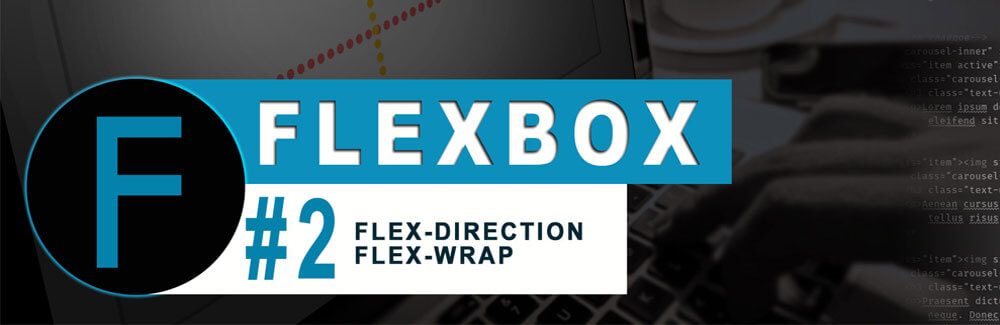 Flexbox CSS #2 - flex-direction | flex-wrap